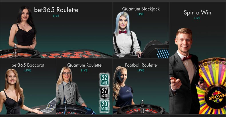 Bet365 Roulette Live and other Live Games