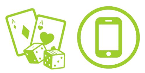 Mobiilipelit Casinohuoneella