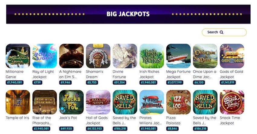 Wink Slots casino jackpot games