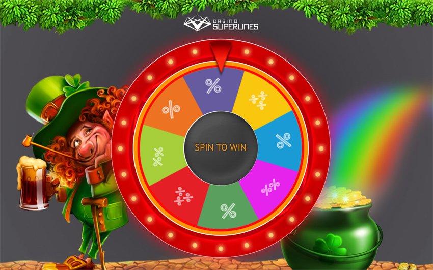 Casino Superlines Wonder Wheel and free spins