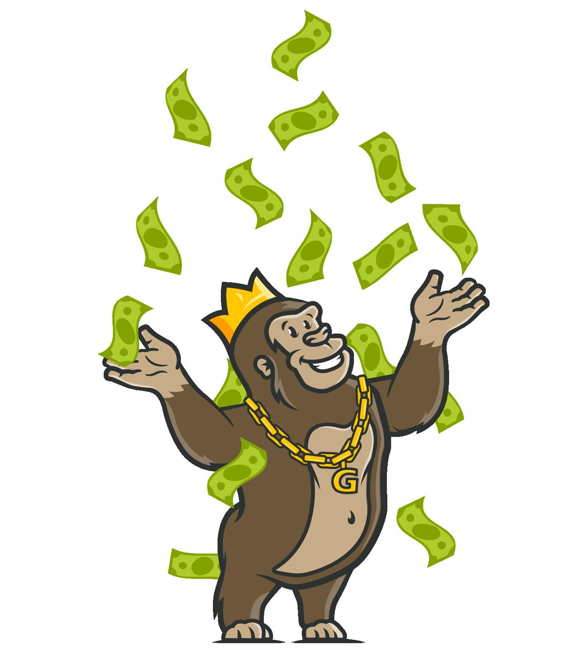 Casino Gorilla graphics