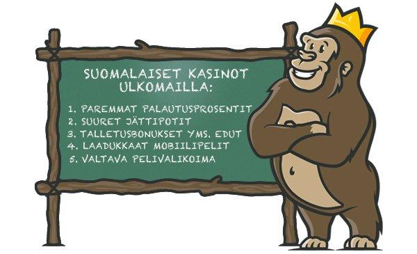 Miksi pelata suomalaisilla nettikasinoilla?