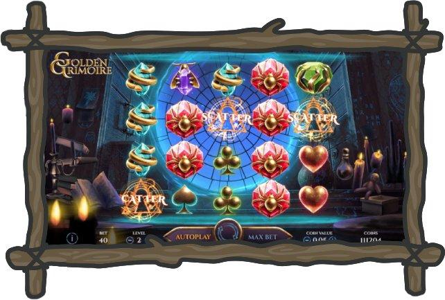 online slots Golden Grimoire