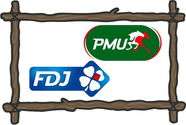 PMU and FDJ gambling in france