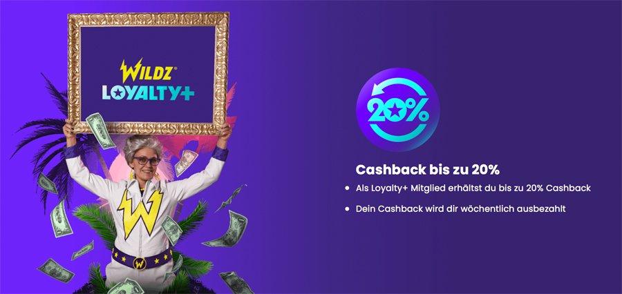 Wildz Loyalty+ Bonusprogramm