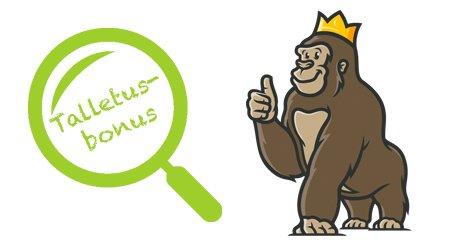 Gorillan bonuslistaukset