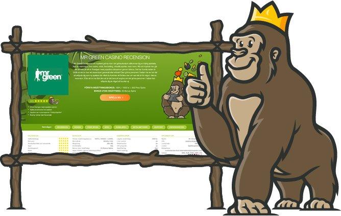 Casino Gorilla online casino recensioner